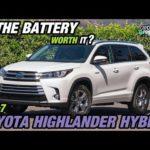 Как заменить гибридные батареи Highlander