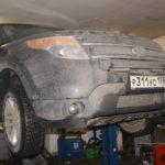 Как заменить глушитель на Форд Эксплорер