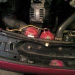 Как заменить гудок в VW Passat