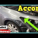 Как заменить Honda Accord Fender