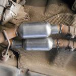 Как заменить каталитический нейтрализатор в Honda