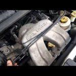 Как заменить катушку зажигания в Dodge Caravan