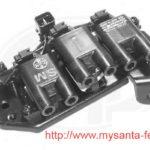 Как заменить катушку зажигания в Hyundai Santa Fe