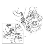Как заменить клапан PCV в Honda Civic