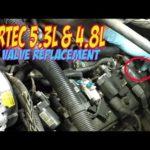 Как заменить клапан Silverado 5.3 PCV
