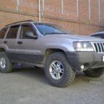 Как заменить крыло на джипе Grand Cherokee
