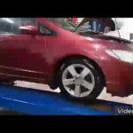 Как заменить лампу налобного фонаря в Honda Civic