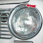 Как заменить лампу сборки фар Buick Regal