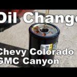 Как заменить масло в Chevy Colorado 2006 года