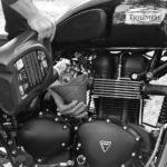 Как заменить масло в мотоцикле Triumph
