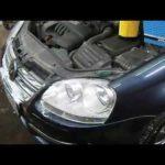 Как заменить масляный фильтр в Jetta 2008
