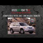 Как заменить Mazda Tribute Key