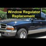 Как заменить окно Dodge Dakota