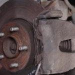 Как заменить передние дисковые тормоза на Ford E-250