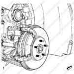 Как заменить передние тормоза на Buick