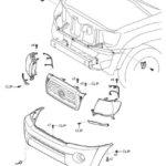 Как заменить передний бампер на Toyota Tacoma
