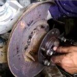 Как заменить подшипники колеса на BMW E46