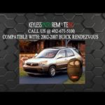 Как заменить потерянные ключи от машины для Buick Rendezvous