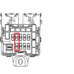 Как заменить предохранитель прикуривателя Acura TL