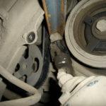 Как заменить приводной ремень Toyota Previa для генератора