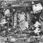 Как заменить прокладки крышки клапана на двигателе Mercury V6 24 Duratec?