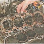 Как заменить прокладку головки блока Honda