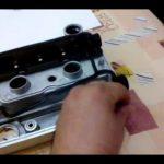 Как заменить прокладку крышки клапана на 2.4L GM