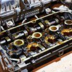 Как заменить прокладку крышки клапана на 350