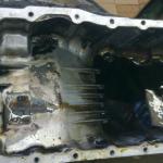 Как заменить прокладку масляного поддона на дань Mazda
