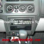 Как заменить радио в Mitsubishi Montero