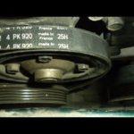 Как заменить ремень генератора на Mazda Protege 1999 года