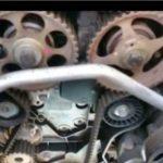 Как заменить ремень ГРМ на Chevy Aveo