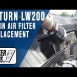 Как заменить салонный воздушный фильтр в Saturn L200