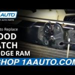 Как заменить сердечник нагревателя в Dodge Ram 1500-2006
