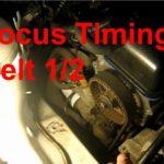 Как заменить серпантиновый ремень в Ford Focus