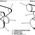 Как заменить серпантиновый ремень в Toyota Corolla