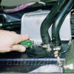 Как заменить шланги отопителя в Ford Mustang