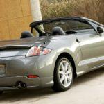 Как заменить складной верх на кабриолет Mitsubishi Eclipse Spyder