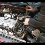 Как заменить стартер Ford Escort
