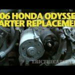 Как заменить стартер в Honda Odyssey 2005 года