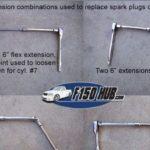 Как заменить свечи зажигания в Ford Ranger