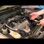 Как заменить свечи зажигания в Nissan Sentra