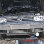 Как заменить термостат на 2000 VW Beetle