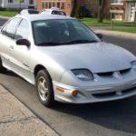 Как заменить термостат на Pontiac Sunfire 2001 года