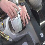 Как заменить топливный фильтр KIA Optima