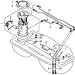 Как заменить топливный фильтр на 2000 GMC Sonoma