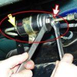Как заменить топливный фильтр на блейзере 1999 года