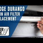 Как заменить топливный фильтр на Dodge Durango 98 года