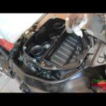 Как заменить топливный фильтр на Harley Davidson 2002 года