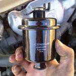 Как заменить топливный фильтр в Honda Accord